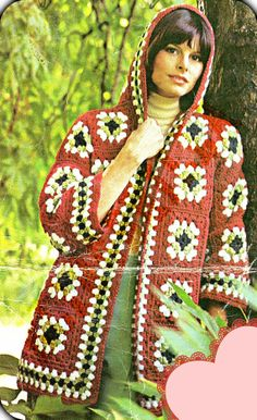 INSTANT DOWNLOAD Vintage Crochet Bohemian Granny by BlingBrilla, $3.00 LINK GOES TO NEW STORE  ;)