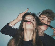 Astro and Avana messing around on Avana's first night at the Academy ~ taken by Raphael (around 3014)