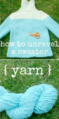 Recycled Sweater Yarn