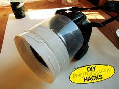 DIY Fotografía Hacks: ¿Por Qué Una caja de CD en blanco Hace de Me Protección contra perfecto lluvia La Para do lente