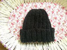 Grey hat for men/ women by Velvetrosi on Etsy