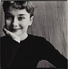 Irving Penn, Audrey Hepburn (so cute!)
