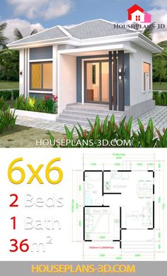 6 X 6 Bathroom Plans Inspirational House Plans with E Bedrooms Flat Roof House Plans Beautiful House Plans, Simple House Plans, My House Plans, House Floor Plans, Modern Small House Design, Simple House Design, Tiny House Design, Tiny House Cabin, House Layout Plans
