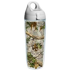 24 oz Clear Tervis 1289196 Florida State Seminoles Water Bottle With Lid