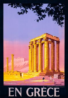 En Grèce, 1930's