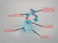 Baby Shower Favor #067. For more details, including color options and pricing, please visit our website www.lacrafts.com (Recuerdo para Baby Shower #067. Para más detalles, incluyendo opciones de color y los precios, por favor visite nuestro sitio web www.lacrafts.com)