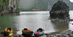 Halong Bay sea kayaking