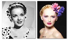 Vintage Milkmaid Braid Hairstyle