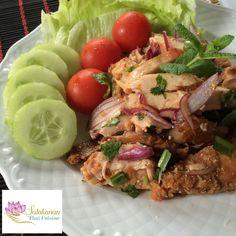 Salakanan thai restaurant offenburg laab gai Thai Restaurant, Beef, Teller, Food, Home Made, Foods, Meat, Essen, Meals