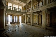 Abandoned theatre in the Republic of Abkhazia by varlamov, via Flickr