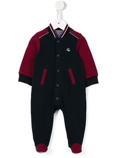 Shop Fay Kids bomber style romper in Parisi from the world's best independent boutiques at farfetch.com. Shop 400 boutiques at one address.