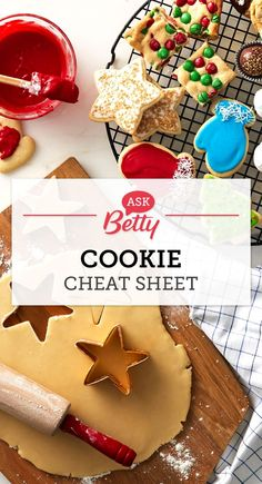 You asked and Betty has answered! Pin to save our Kitchen-tested answers to your most frequently asked (and Googled!) questions regarding planning and baking Christmas cookies.