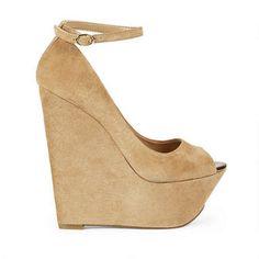 Jessica Simpson wedges.  I want them.