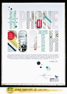 Janine Langer .Paper Love: Citrus Twist Kits | May 2015 Layouts