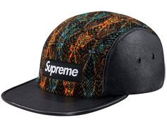 Diamond Tweed 5 Panel Hat By SUPREME