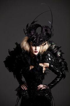 Dark style fashion