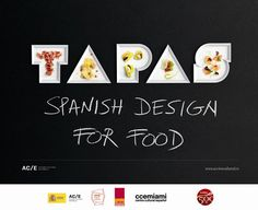 Tapas - Spanish Design for Food makes its U.S. premiere Nov. 9-Dec. 15 at The Moore Building in #Miami's Design District
