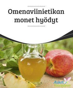 Omenaviinietikan monet hyödyt  Tässä artikkelissa #keskitymme omenaviinietikan #ominaisuuksiin ja siihen, miten sitä voi käyttää #monipuolisesti monien eri vaivojen hoitoon.  #Luontaishoidot