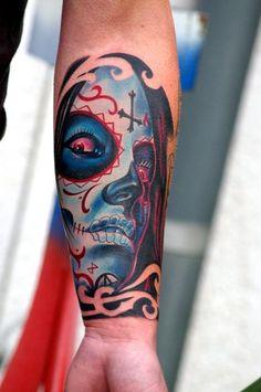 Farbschock Tattoo