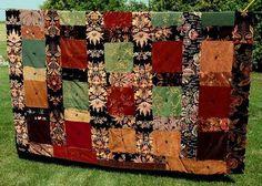 antique velvet quilt