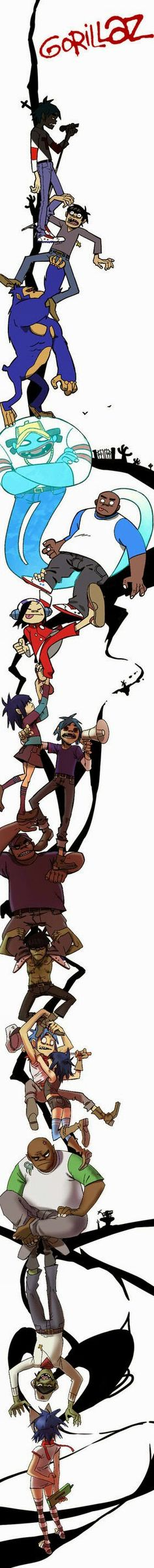 The Gorillaz!