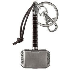 Marvel Thor 2 Thor's Hammer Mjolnir Keychain ❤ liked on Polyvore featuring accessories and fob key chain