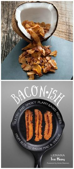 Review of Baconish and a Recipe for Vegan Coconut Bacon. It's amazing on a vegan…