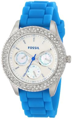 Crystal watches for ladies Fossil