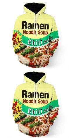 6f5b51793410 2017 new fashion Cool sweatshirt Hoodies Men women 3D print Funny chili  noodle soup hot Style Streetwear Long sleeve clothes