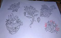 Soul Tattoo, Traditional Tattoo Flash, Vintage Soul, Rock N, Leicester, Tattoo Studio, Rockabilly, Tattoo Designs, Ink