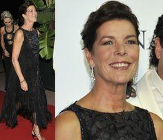Carolina de Mónaco pone el corazón y la elegancia en una cena solidaria #princess #caroline #monaco #royals
