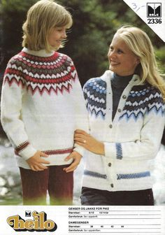 Dale 2336 Fair Isle Pullover, Pullover Mode, Baby Pullover, Knit Jacket, Sweater Jacket, Men Sweater, Norwegian Knitting, Fair Isle Knitting, Knitting For Kids