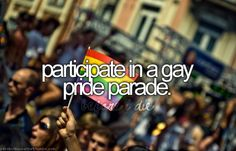 Whats on your bucket list? The SF Pride Parade is this sunday! Show your support today and review a nonprofit near you making a difference for the LGBTQ community here at http://www.greatnonprofits.org/campaigns/view/lgbtq-2012  Let others know about their hard work and impact!