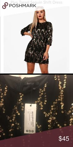 d653a626a76e Boohoo Plus Sequin Dress Selling 2 new Boohoo Plus size dresses in a size 22  and