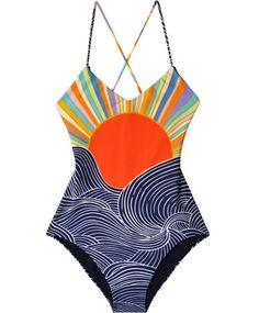 Mara Hoffman Misun Reversible Swimsuit