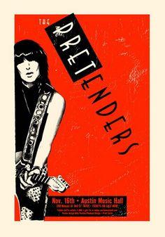 The Pretenders Concert Poster