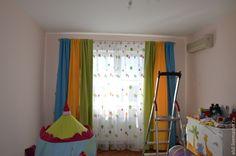 Купить Шторы для детской для дошкольника - шторы, шторы для дома, текстиль для дома, текстиль для интерьера