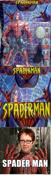 Spader Man