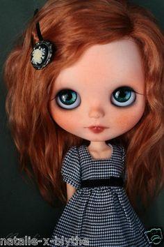 Red hair & blue eyes