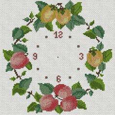 Manualidades y mas: Hermosos relojes en punto de cruz Kids Rugs, Diy, Clocks, Cross Stitch, Cross Stitch Kitchen, Cross Stitch Art, Embroidery Stitches, Ornaments, Bricolage