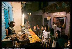 Street with vendor of #Sweets by night, Taj Ganj. Agra #ekPlate #ekplatesweets