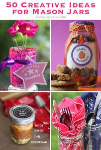 Get creative with jars! Whether you love to host parties, bake, craft or garden, you will enjoy these fun DIY ideas for what to do with Mason Jars other than making jam.Save vacation memories in a jar...