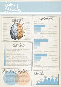 creative design layout for info Cv Design, Resume Design, Branding Design, Cv Inspiration, Graphic Design Inspiration, Creative Resume, Creative Design, Infographic Resume, Infographics