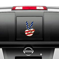 Peace Sign With Flowers Vinyl Die Cut Decal,laptop,window,car,truck,funny,iPad
