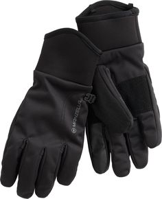 Women's Manzella All Elements 3.0 Gloves offer sleek stretchy and dextrous warmth with smartphone-friendly features. From Duluth Trading Company.