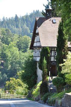 in Duitsland staat een huis (tri berg)