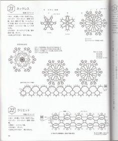 Tatting jewelry pattern  tatting with beads  tatting lace