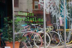 Bicycle Revolutions in Philadelphia, PA. Find Linus Bike here!