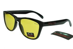 Oakley Limited Editions Sunglasses Black Frame Colorful Lens 0765
