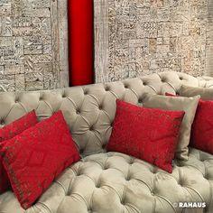 catwoman sofa katze cat kissen bild wohnzimmer gem tlich stoff fabric berlin interior. Black Bedroom Furniture Sets. Home Design Ideas